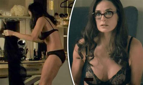 the love boat julie s blind date demi moore flaunts unbelievable figure at 54 as she strips