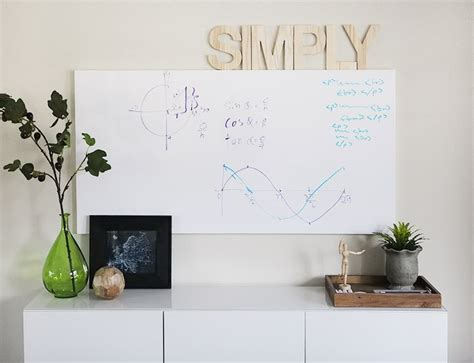 whiteboard design at home home office make over the whiteboard wall reveal