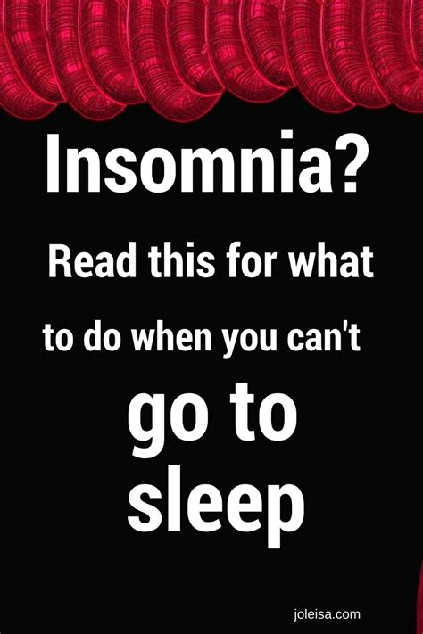 can you be put to sleep for c section insomnia what to do when you can t sleep joleisa