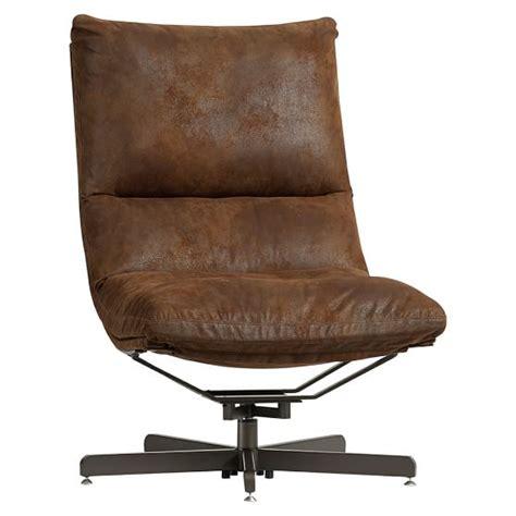 swivel lounge chair and ottoman trailblazer maverick swivel lounge chair ottoman pbteen