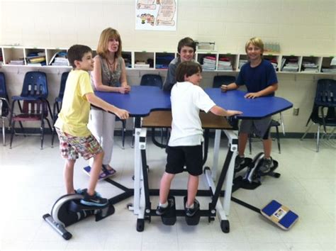 kinesthetic classroom pedal desks 32 best the kinesthetic classroom images on pinterest