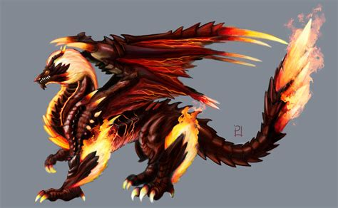 fire dragon by plsn on deviantart