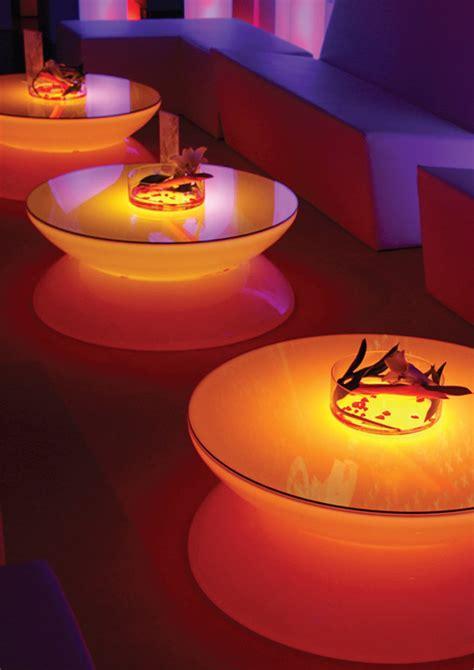 translucent led light tables lounge  moree digsdigs