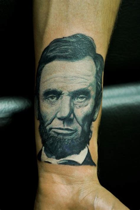 abraham lincoln tattoo abe lincoln tattoos and tatting