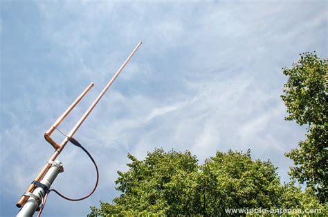 using an external antenna with your handheld radio kb9vbr j pole antennas