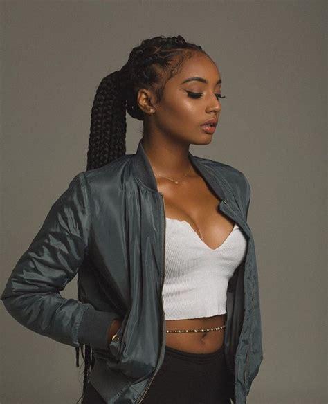 blackbraided hairstylespinups black pinup hair black girl braided hairstyle african