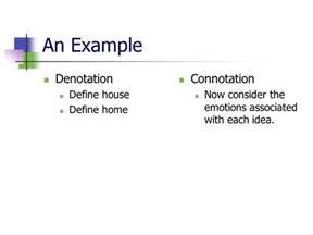 Define Arrange connotation and denotation ppt video online download