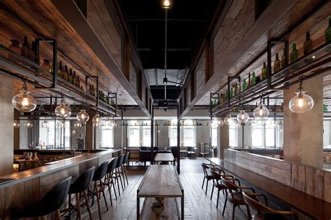 industrial interiors mercato restaurant shanghai by neri hu yellowtrace