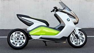 Bmw Electric Scooter Bmw Concept E