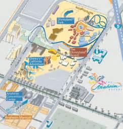 downtown disney anaheim map