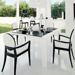 salle 224 manger moderne et design en noir