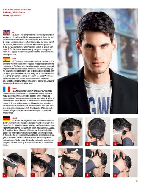 mens haircuts step by step simple step by step mens hairstyles hairstyles ideas