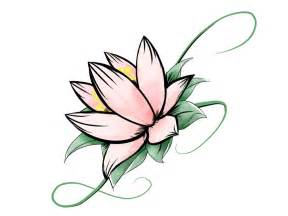 Draw A Lotus Flower Simple Lotus Flower Drawing Clipart Best