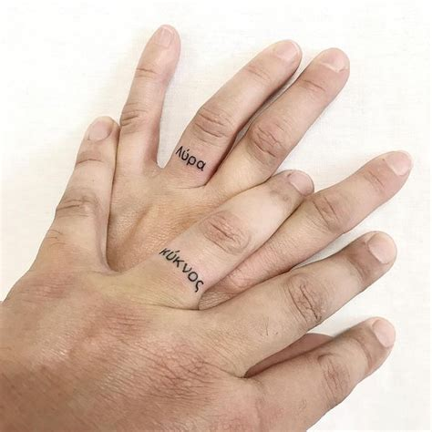 finger name tattoos wedding ring finger designs and ideas
