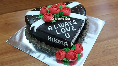 hukum membuat kue ulang tahun resep cara mudah membuat coklat ganache menghias kue