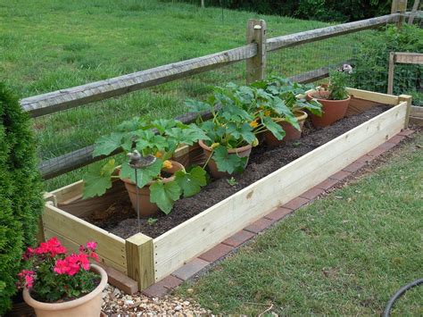 vegetable beds raised garden bed gardens pinterest