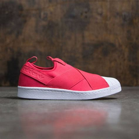 Adidas Superstar Slip On Pink Original adidas superstar slip on pink pink footwear white