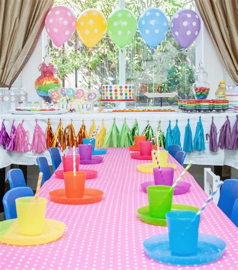 Birthday Decorations by Gallery Roundup Rainbow Project Nursery
