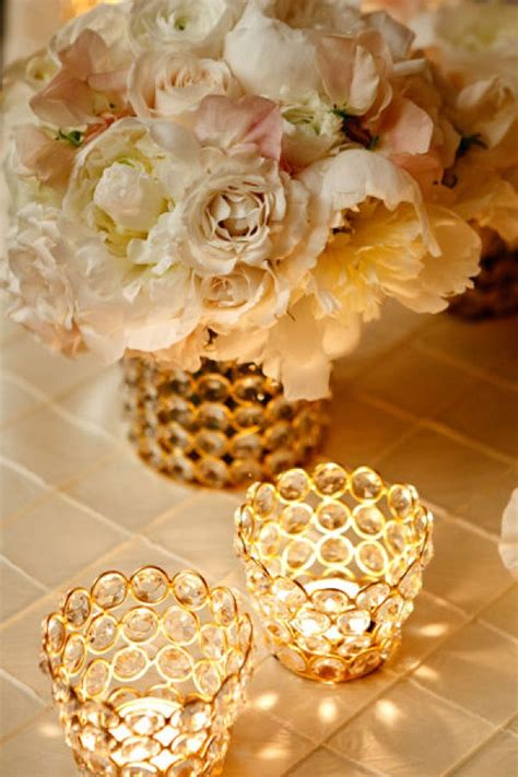 white and gold centerpieces gold white amazing photos
