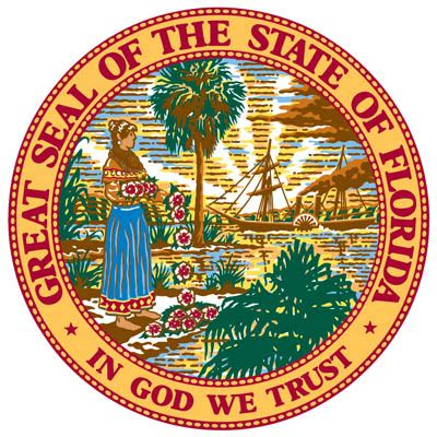 Myflorida Records State Seal Florida Department Of State