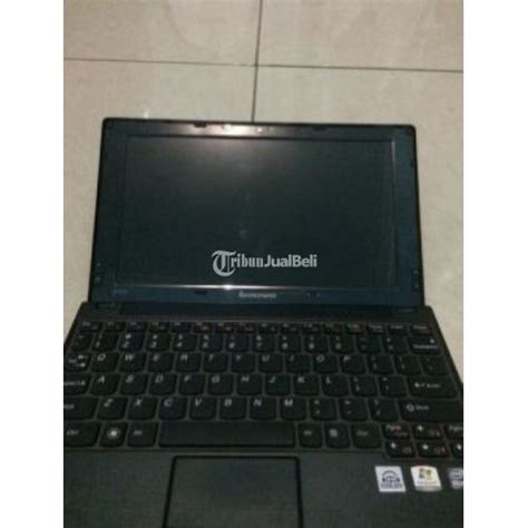 Laptop Lenovo S10 3 Second Notebook Lenovo S10 3 Second 10 Inc Ram 2gb 360gb Vga Intel Warna Hitam Malang Dijual