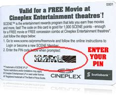 How To Use Cineplex Gift Card Online - gift card balance check cineplex infocard co