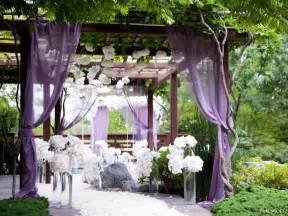 outside wedding decorations purple outside garden wedding decorationwedwebtalks