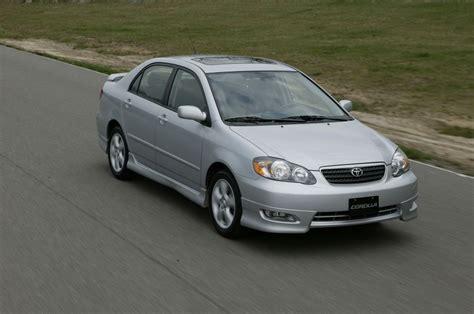 2005 Toyota Corolla Xrs Album Toyota Canada