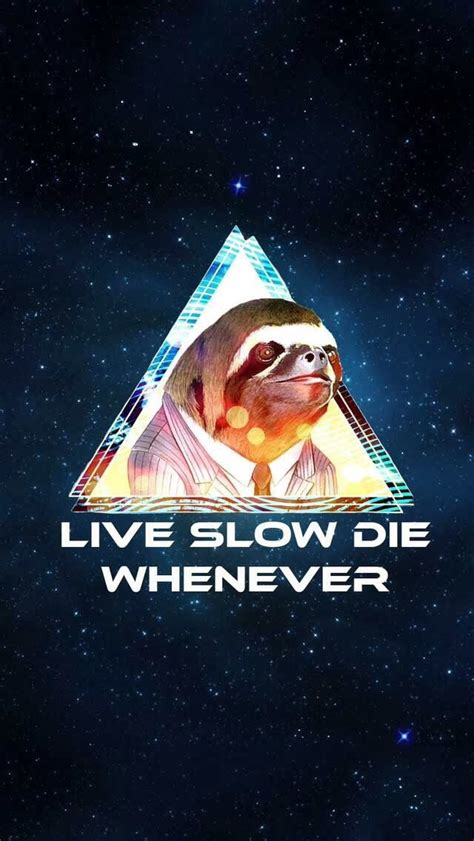 Live Die Whenever Wallpaper 1440p by Live Die Whenever Sloths Au