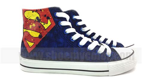 superman house shoes 2013 new superman hand painted shoes superman photo