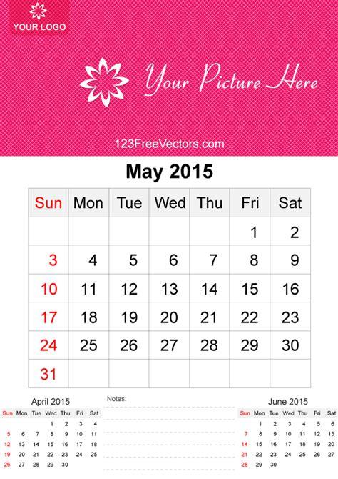 calendar layout may 2015 may 2015 calendar template vector free by 123freevectors