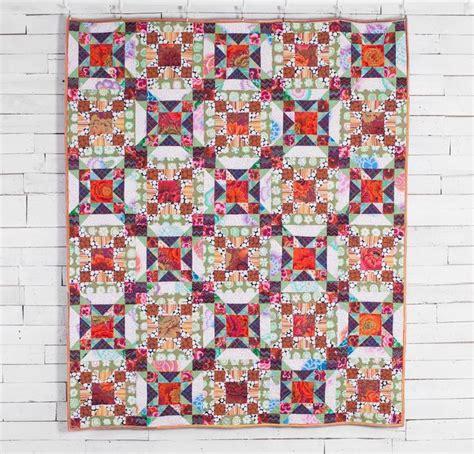 Kaffe Fassett Quilt Kit by Rowan Kaffe Fassett Collective Lovely Lattice Quilt Kit