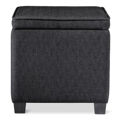 Storage Ottoman With Lap Desk Black Room Essentials Target Room Essentials Storage Ottoman