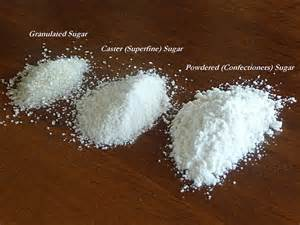 diy how to make caster and powdered sugar 1