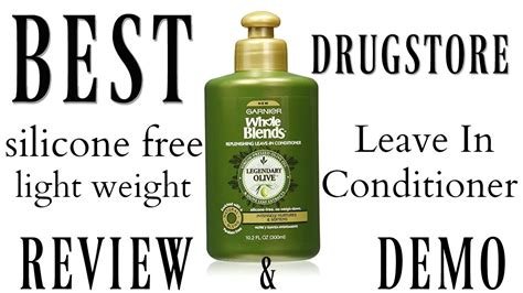 popular silicon free leave in conditioners best silicone free leave in conditioner from the drugstore