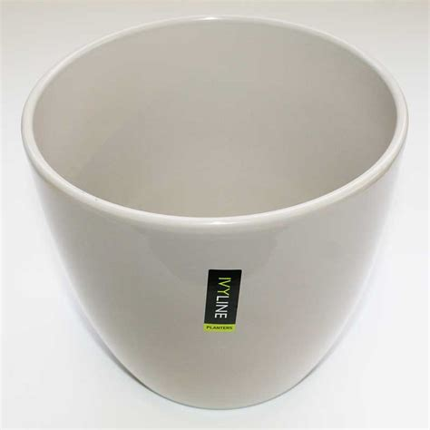 indoor plant pot scheurich creme indoor plant pot cover