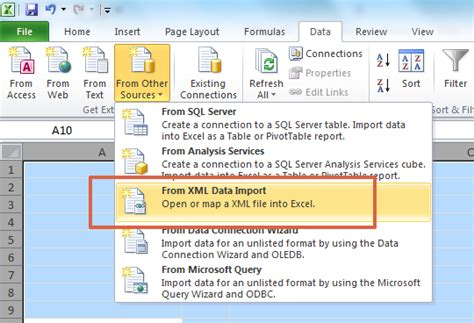 How To Convert Xml To Excel Xml Template For Excel