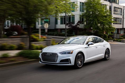 audi a5 s5 sportback 2018 audi a5 and s5 sportback drive review