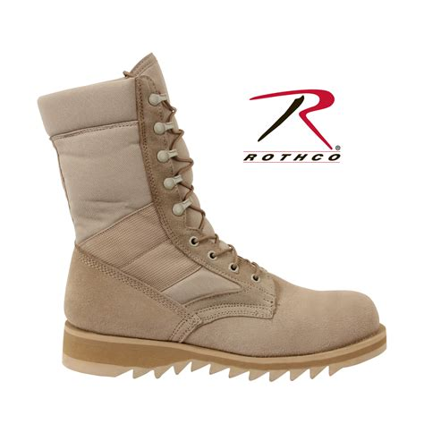 ripple sole boots rothco 5058 g i type ripple sole desert jungle boots