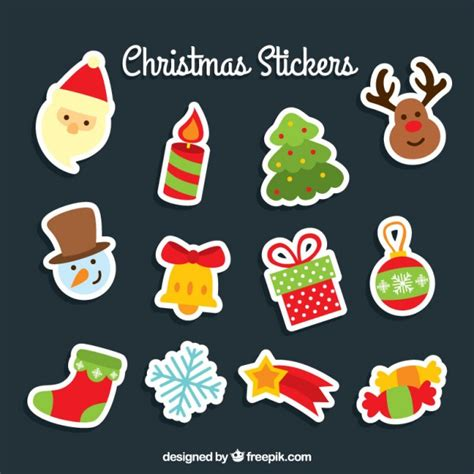 stickers vector free