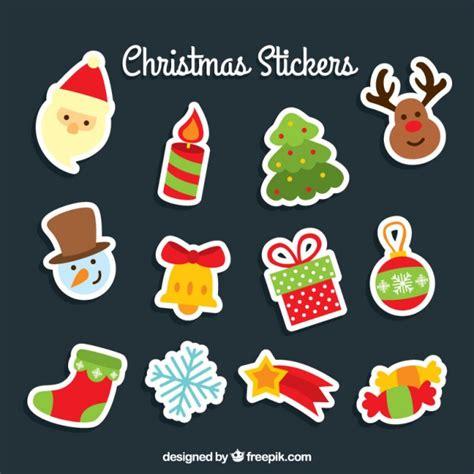 Aufkleber Weihnachten Kostenlos by Stickers Vector Free