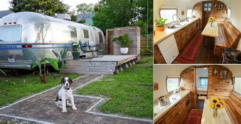 interior   renovated  airstream home design