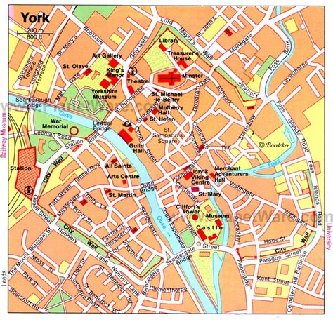 printable map leeds city centre 16 top rated tourist attractions in york england planetware