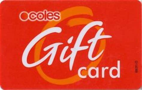 Gift Cards Coles - gift card coles gift card coles cs australia coles cs series col cs001
