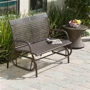 patio glider bench outdoor swinging 4 ft outdoor glider bench outdoor
