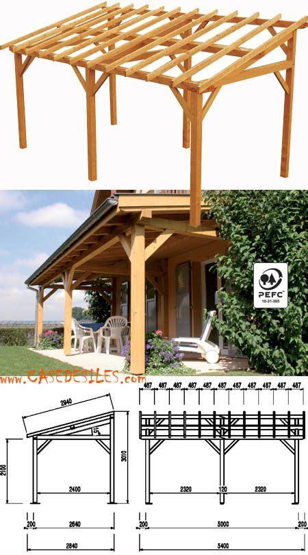 mc garden carport best 25 carport bois pas cher ideas on abri