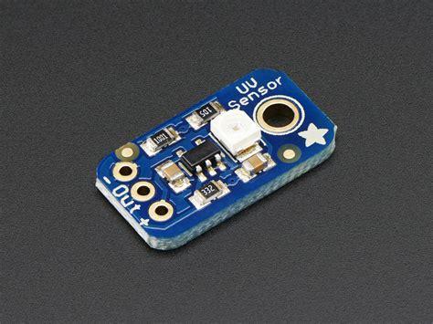 Guva S12sd Uv Sensor Ml8521 Ultraviolet Uv Detection Sensor Module analog uv light sensor breakout guva s12sd id 1918 6 50 adafruit industries unique