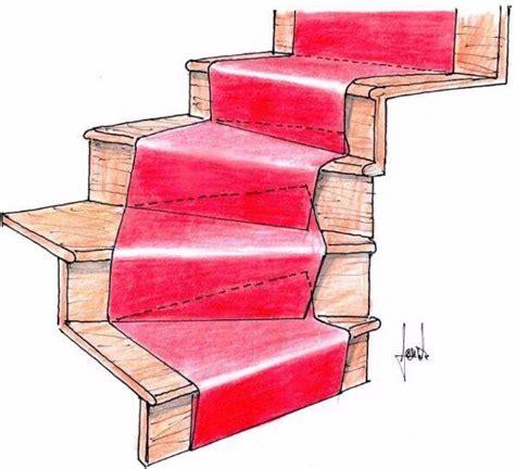 tappeti scale moquette su scale sistemi di posa