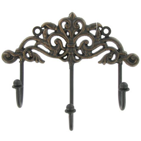 Wall Plaque Hooks 3 Hook Wall Plaque With Scroll Design Hobby Lobby