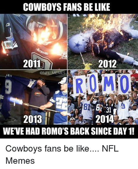 Cowboys Fans Be Like Meme - 25 best memes about cowboys fans be like cowboys fans